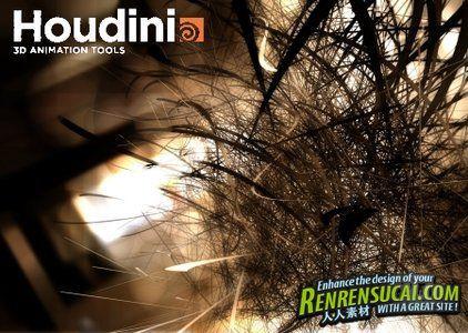 《电影特效制作软件V12.1.125版》SideFX Houdini FX 12.1.125 Win/MacOSX/Linux XFORCE