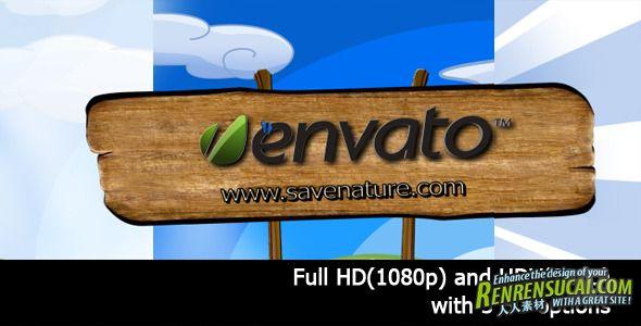 《大自然公园 AE模板》videohive nature park 1163857