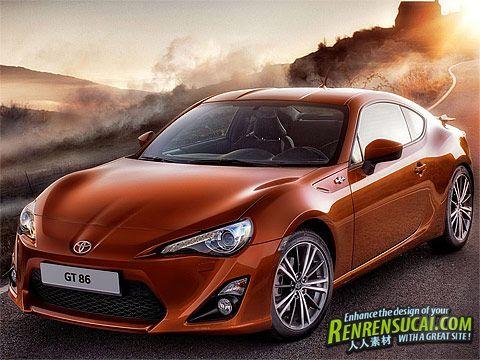 《丰田汽车3D模型合辑》Toyota Cars Collection