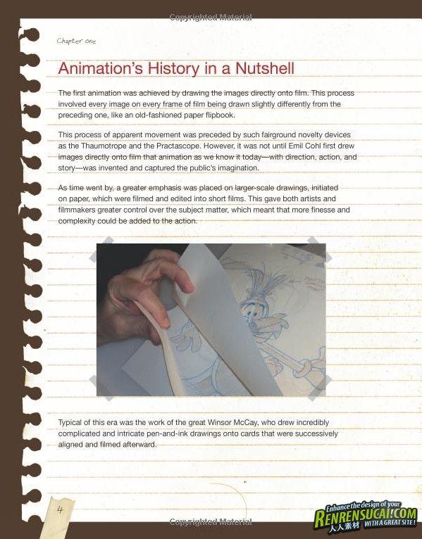 《经典动画技术内幕技巧手册》Tony Whites Animators Notebook Personal Observations on the Principles of Movement
