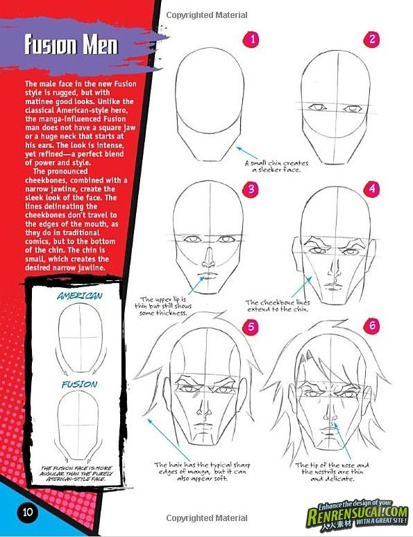 《美国漫画风格绘制技巧CG书籍》Drawing Cutting Edge Fusion American Comics with a Manga Influence