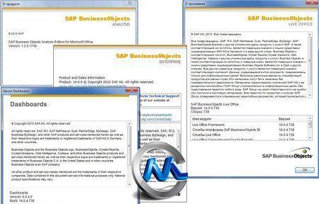 《商务分析软件》SAP BusinessObjects BI Platform 4.0 SP4