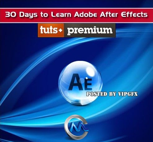 《AE技术30天速成视频教程》Tuts+ Premium 30 Days to Learn Adobe After Effects
