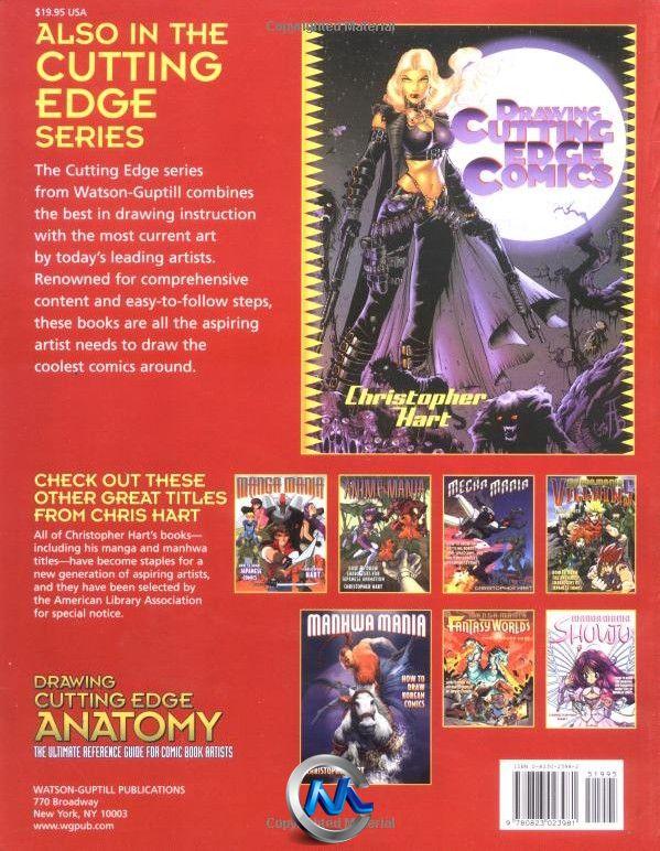 《漫画艺术家人物解剖参考书籍》Drawing Cutting Edge Anatomy The Ultimate Reference for Comic Book Artists