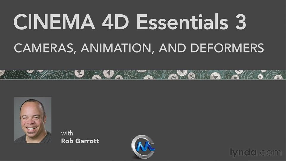 《C4D精华训练教程合辑Vol.1-3》Lynda CINEMA 4D Essentials 1-3