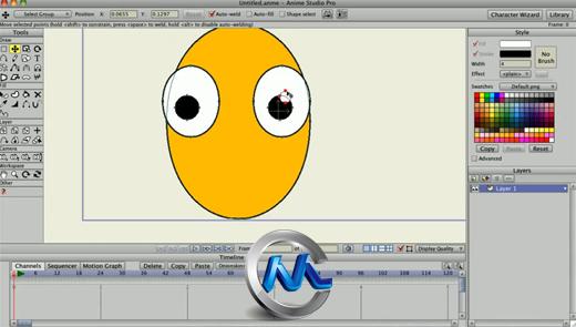 《2D动画制作软件V9.1专业版》Smith Micro Anime Studio Pro v9.1 Win/Mac