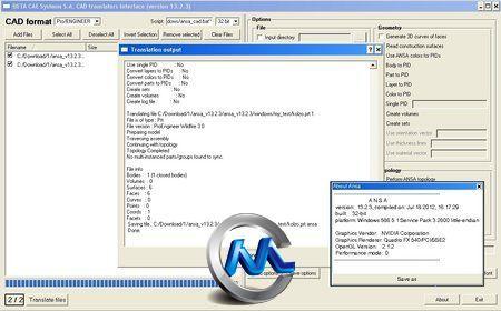 《CAE Systems ANSA 13有限元前处理工具》BETA CAE Systems ANSA (32bit) 13.2.3