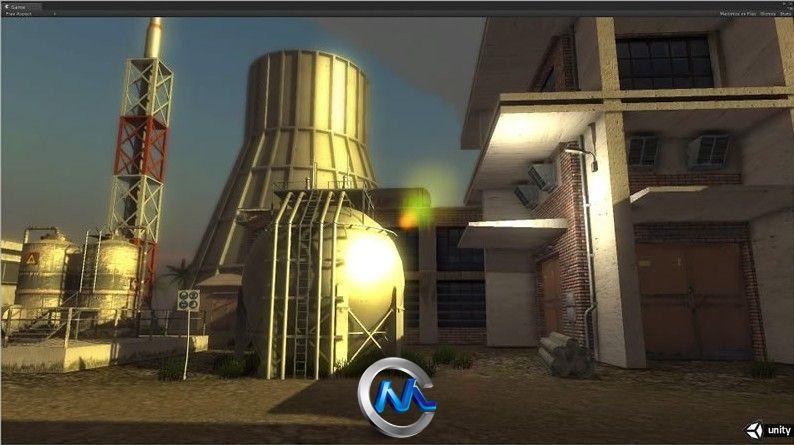 《老工业基地建筑和设施3D模型合辑4》Dexsoft Industrial 4 Model pack