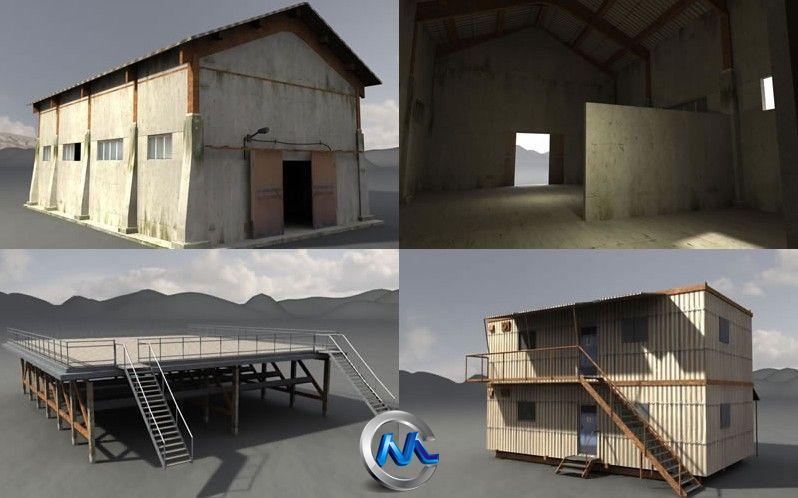 《老工业基地建筑和设施3D模型合辑3》Dexsoft Industrial 3 Model pack