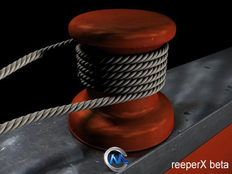 《绳索C4D插件V1.1版》Reeper X 1.1 For C4D