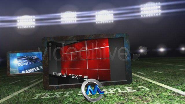 《体育舞台展示 AE模板》videohive sports arena showcase 119197