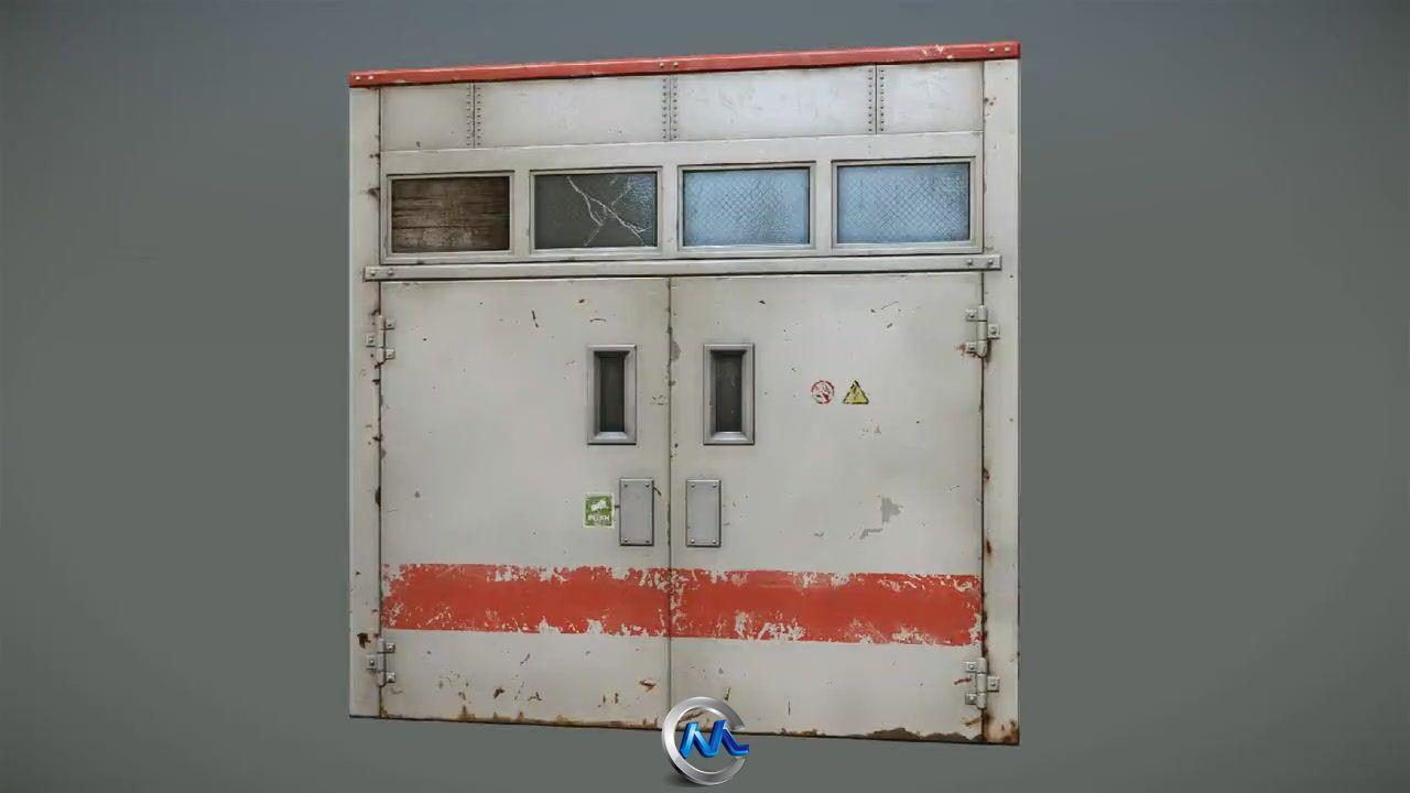 《nDo2与CryENGINE3纹理实例教程》3DMotive Texturing an Industrial Door with nDo2 and CryENGINE 3