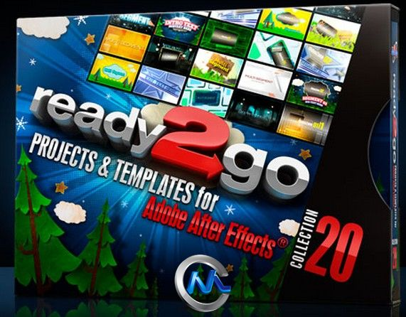 《DJ最强AE模板合辑Vol.20》Digital Juice Ready2Go Collection 20 for After Effects