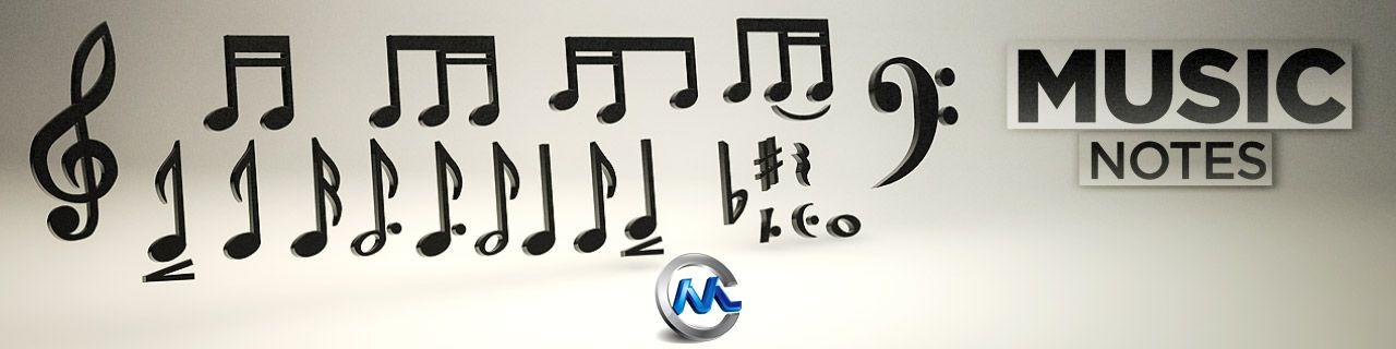 《音乐音响设备3D模型合辑》The Pixel Lab Music Pack