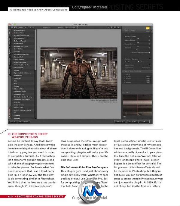 《Photoshop图片特效合成秘密书籍》Photoshop Compositing Secrets Unlocking the Key to Perfect Selections and Amazing Photoshop Effects for Totally Realistic Composites