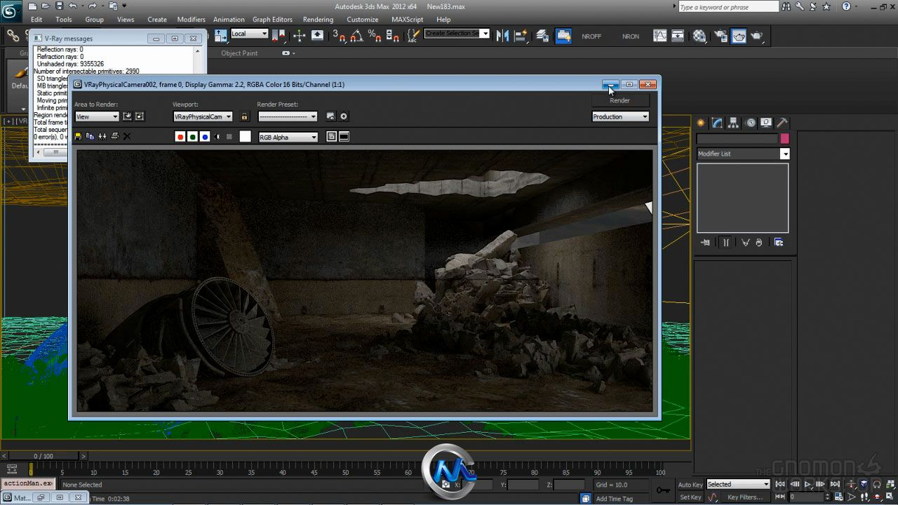 《3dsMax与ZBrush制作大型场景教程》The Gnomon Workshop Environment Production Workflow Tips Tricks and Concepts