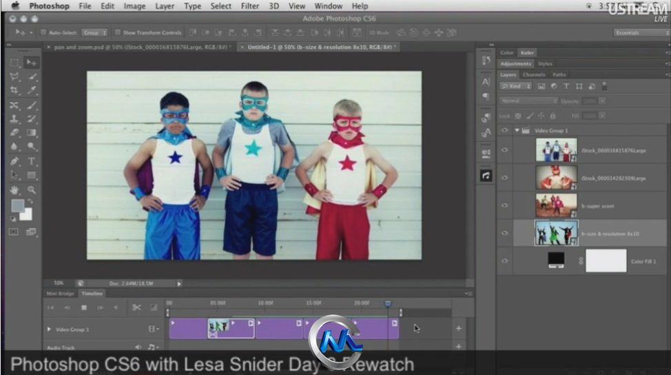 《Photoshop CS6 新功能全面培训教程》CreativeLive Adobe Photoshop CS6 New Features Full 3 Days