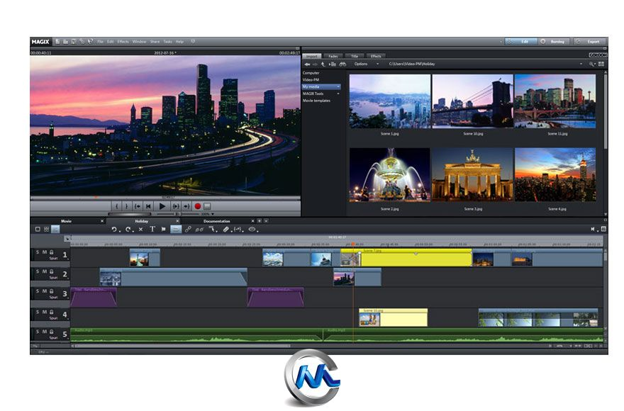 《魔力视频编辑2013高级版V12》MAGIX Movie Edit Pro 2013 Premium v12.0.0.32