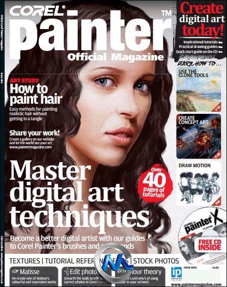 《CorelPainter官方指南书籍2012年12月刊》Corel Painter October 2012