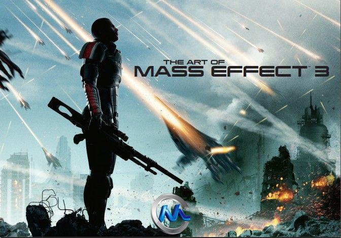 《质量效应3游戏艺术原画设计书籍》The Art of the Mass Effect 3