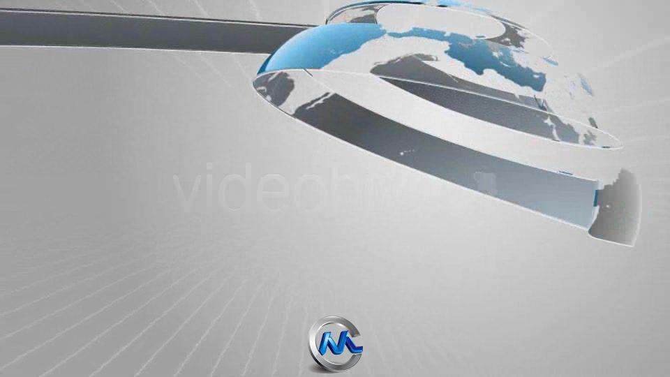 《新闻包装地球板式 AE模板》Videohive Positive News 2215458