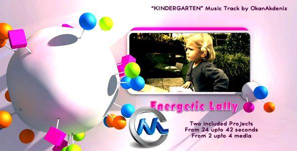 《小朋友快乐聚会预告片AE模板》Videohive Kid Party Joyful Event 1028415