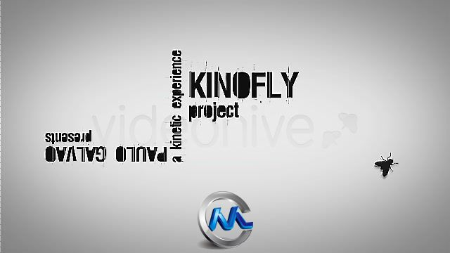 《文字混排动画AE模板》Videohive Kinofly 161603