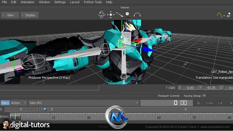 《3dsMax与MotionBuilder整合集成教程》Digital-Tutors 3ds Max to MotionBuilder Integration