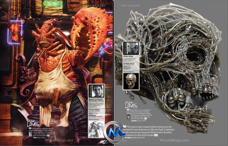 《3D艺术家书籍杂志第47期》3D Artist Issue 47 2012