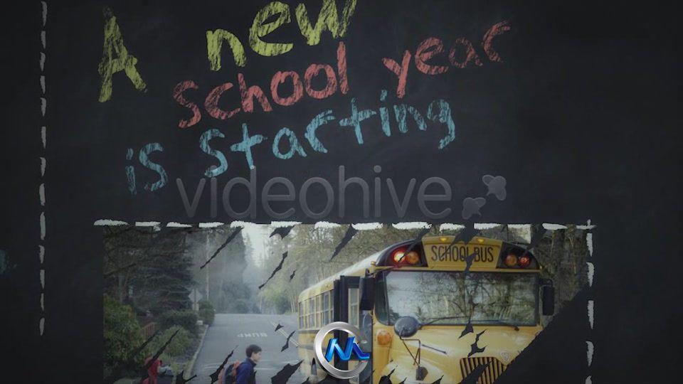 《开学啦重回学校AE模板》Videohive Expresso BackToSchool 526706