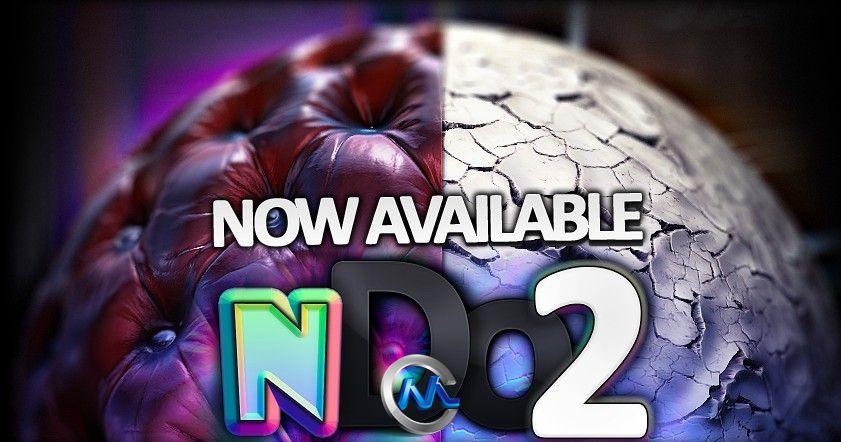 《Quixel nDo2手绘工具V1.1.6破解版》Quixel nDo2 Ver 1.1.6 Win64