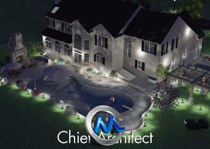 《首席建筑师X5软件培训视频教程》Chief Architect X5 Training Videos