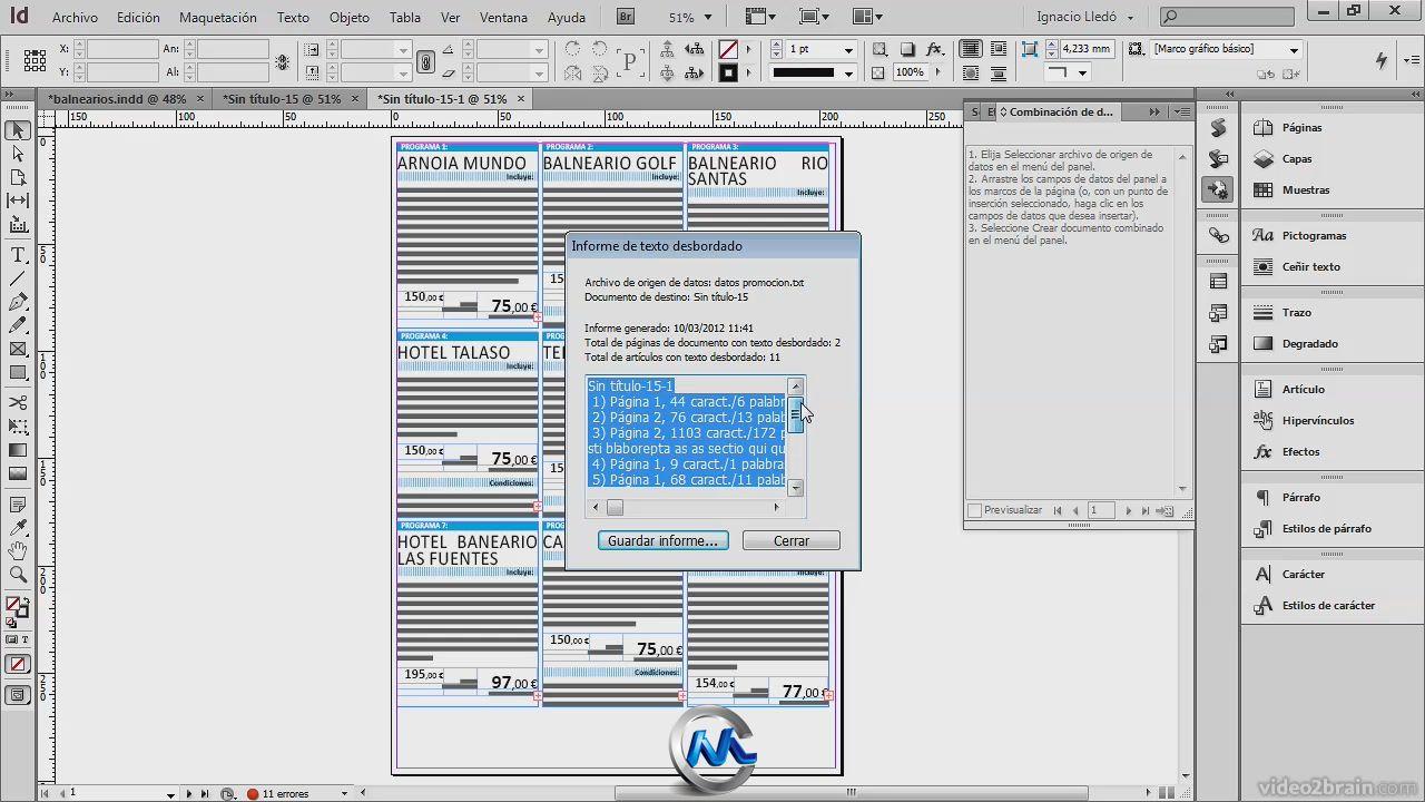 Adobe InDesign CS6排版实例教程 video2brain Practical example with 图片