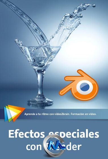 《Blender流体模拟动画特效教程》video2brain Special Effects with Blender Spanish