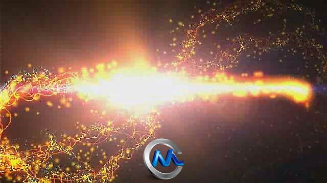 《Logo标志粒子动画AE模板》Videohive Logo Strings Particles Animation 89002