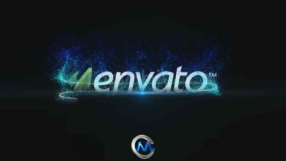《光辉粒子LOGO标志AE模板》Videohive Logo Streaklet 490774