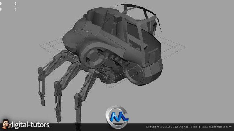 《Maya与ZBrush科幻汽车纹理建模教程》Digital-Tutors Creative Development Sci-Fi Vehicle Modeling and Texturing in Maya and ZBrush