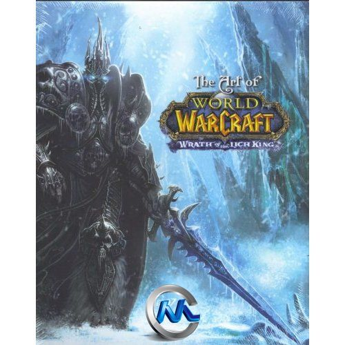《魔兽世界-巫妖王之怒游戏艺术原画设计书籍》The Art of World of Warcraft Wrath of the Lich King