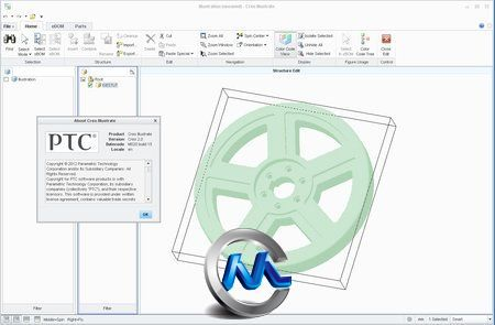 《CAD三维插图软件v2.0》PTC Creo Illustrate 2.0 M020