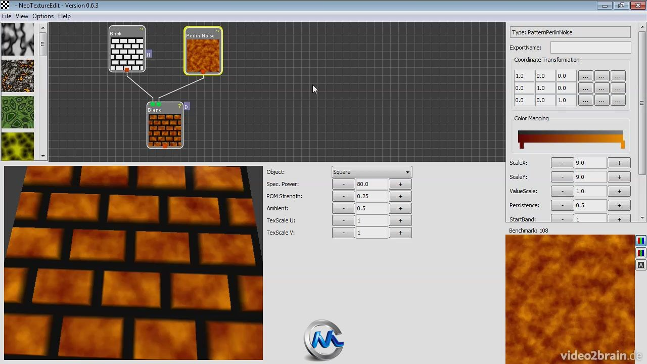 《Filter Forge纹理制作视频教程》video2brain Create textures with and without Filter Forge German
