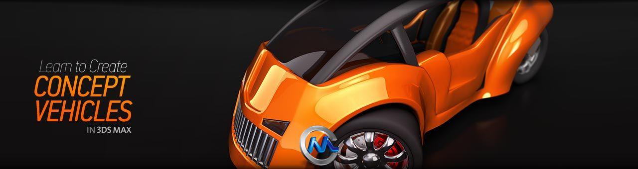 《3dsmax概念汽车设计建模教程》Digital-Tutors Creating Concept Vehicles in 3ds Max