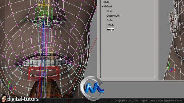 《Softimage面部表情动作教程》Digital-Tutors Facial Rigging in Softimage