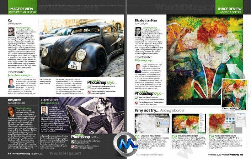 《Photoshop技术指南杂志2012年11月刊》Practical Photoshop UK November 2012