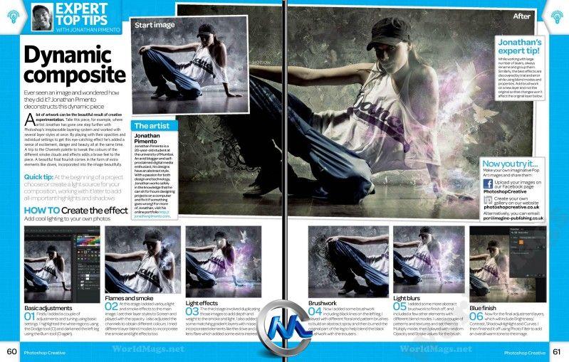 《Photoshop创意杂志2012年第93期》Photoshop Creative UK Issue 93 2012