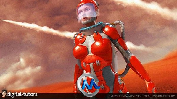 《ZBrush科幻人物机甲制作视频教程》Digital-Tutors Creative Development Building Futuristic Armor in ZBrush