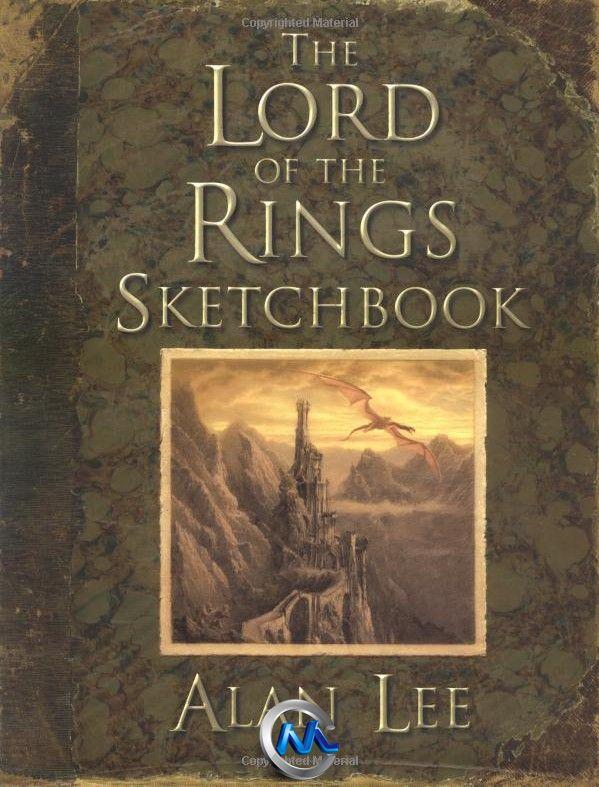 《指环王电影艺术原画设计书籍》The Lord of the Rings Sketchbook