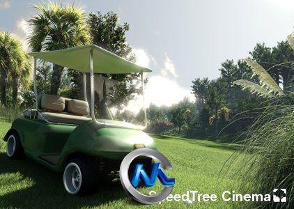 《(快速树木生成软件)独立运行版v6.2.3》Speedtree Cinema 6.2.3