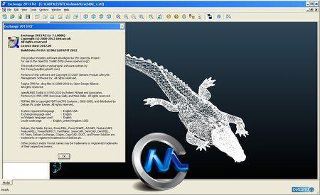 《三维软件文件格式转换工具2013》Delcam Exchange 2013 R2