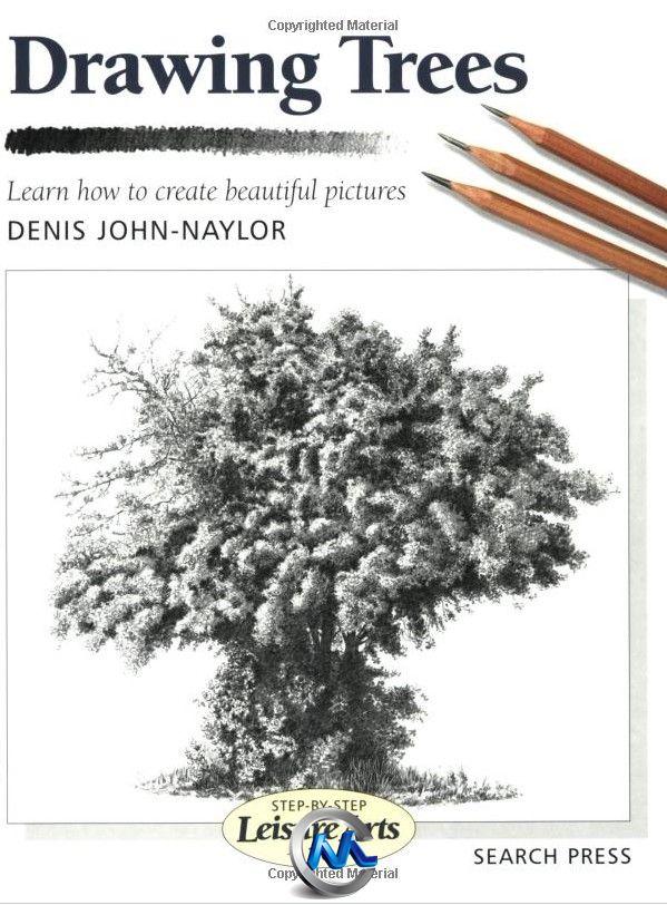 《手绘绘画树木植物书籍》Drawing Trees Learn How to Create Beautiful Pictures