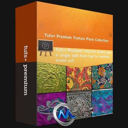 《Tuts高清纹理平面素材22个合辑》Tuts+ Premium Texture Pack Collection